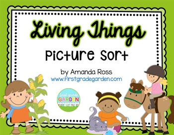 Living and Non-Living Picture Sort