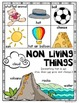 {Living and Non Living} Posters Kindergarten & First Grade Science