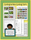 Living and Non-Living Sort (real photos sort and cut-&-paste extension activity)