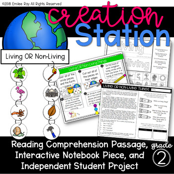 Living & Non-Living Things {Creation Station}