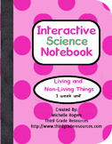 Living and Non-Living Things Interactive Notebook Pages