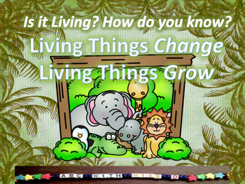 Living and Non-Living Things-Life Science Presentation, Ac