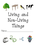 Living and Non-Living Things Packet