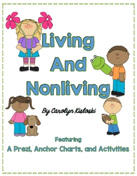 Living and Nonliving Things Packet