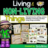 Living and Non-Living Things (Real pictures for sorting, activities)