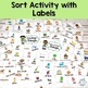 Living and Non Living Things Sort Activity. Centers and Large Group Lessons.