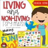 Living and Non-Living Things Sort | I-Spy mats