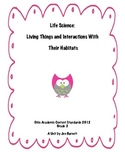 Living and Non-Living Things:  a Life Science Unit (Ohio Standards)