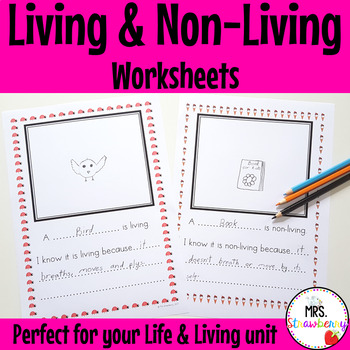 Science - Living and Non-Living Worksheets