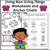Living and Non Living Things Worksheets and STEM ACTIVITY