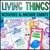 Living and Non-living Mini Unit and Anchor Chart BUNDLE