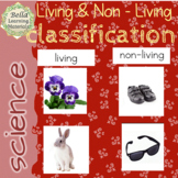 Montessori Living and Non-living Classification