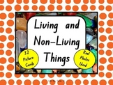 Living and Non-living Picture Cards