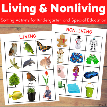 Living and Non-living Sorting Activity