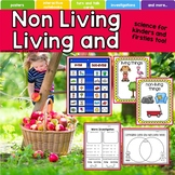 Living and Nonliving Things Science Activities