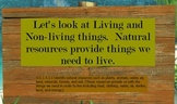 Living and Non-living Things Promethean board flipchart