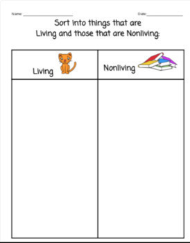 Living and Non-living Things and The Ways they Move