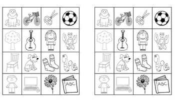 Living and Non-living things sorting worksheet