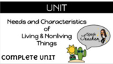 Living and NonLiving Things - NO PREP FULL UNIT - Lessons & Activities