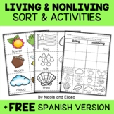 Living Things Sort Activities
