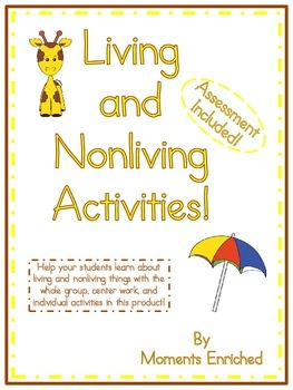 Living and Nonliving Activities