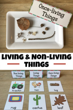 Living and Nonliving Exploration Unit
