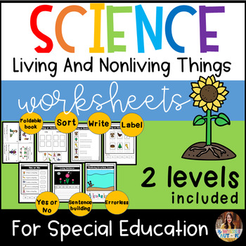 Living and Nonliving For Special Education