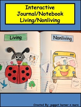 Living and Nonliving Interactive Journal