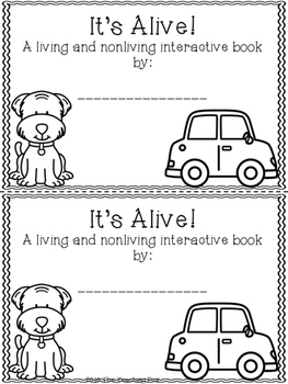 Living and Nonliving {Interactive Reader}