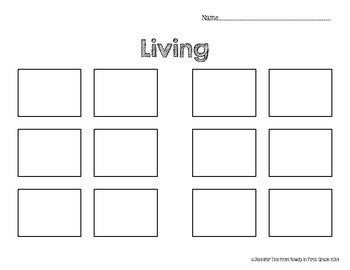 Living and Nonliving Objects Unit