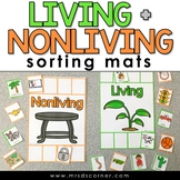 Living and Nonliving Sorting Mats [2 mats included] | Livi