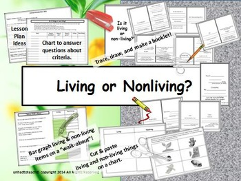 Living and nonliving things teaching resources teachers pay teachers living and nonliving things living and nonliving things ccuart Image collections
