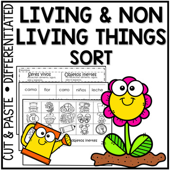 Living and nonliving things cut and paste teaching resources living and nonliving things cut and paste teaching resources teachers pay teachers ccuart Image collections