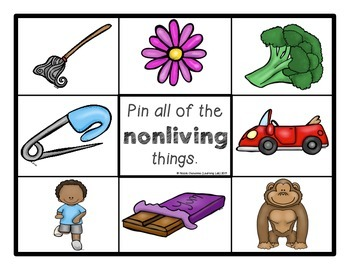 Living and Nonliving Things - Self-Checking Science Centers