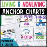 Living and Nonliving Things Anchor Charts | Digital | Goog