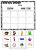 Living and Nonliving Things    Category Sort   Cut and Paste Worksheets