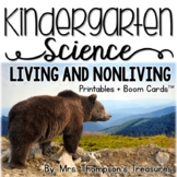 Living and Nonliving Things Kindergarten Science NGSS