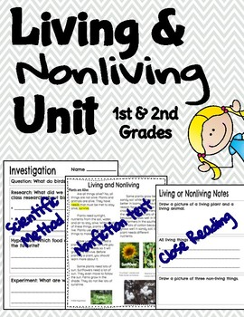 Living and Nonliving Things (Science in the Binder)