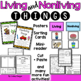 Living and Nonliving Things Worksheets and Activities
