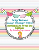 Living and Working in Ontario Easy Readers & Activities for IEPs