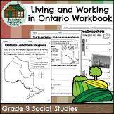 Living and Working in Ontario Regions Workbook (Grade 3 So