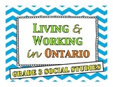 Living and Working in Ontario - Research Booklet