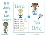 Living and non Living Beebot Mat Cards-Stem Activity