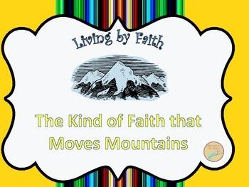 Living by Faith PowerPoint