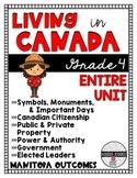 Living in Canada {Grade 4 Manitoba Outcomes}