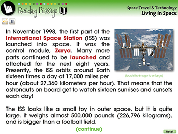 Living in Space - NOTEBOOK Gr. 5-8