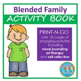 Living in a Blended Family Activity Book (Print-N-Go)