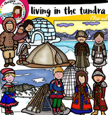 Living in the tundra clip art