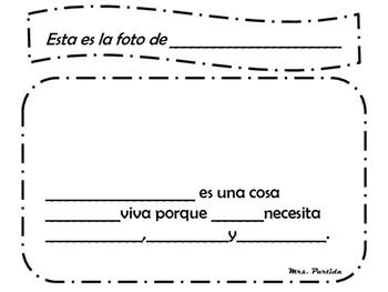 Living nonlivingInformational Text Bilingual Stars Mrs Partida