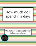 Living on Many Dollars a Day - My Daily Spending